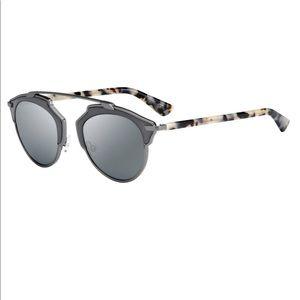 Dior SO REAL Grey Sand Havana/Grey Sunglasses
